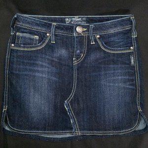 Silver Jeans Co Janet Mini Skirt -Size W25